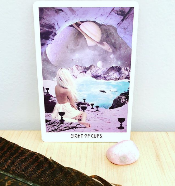 Eight of Cups Tarot Card Meanings