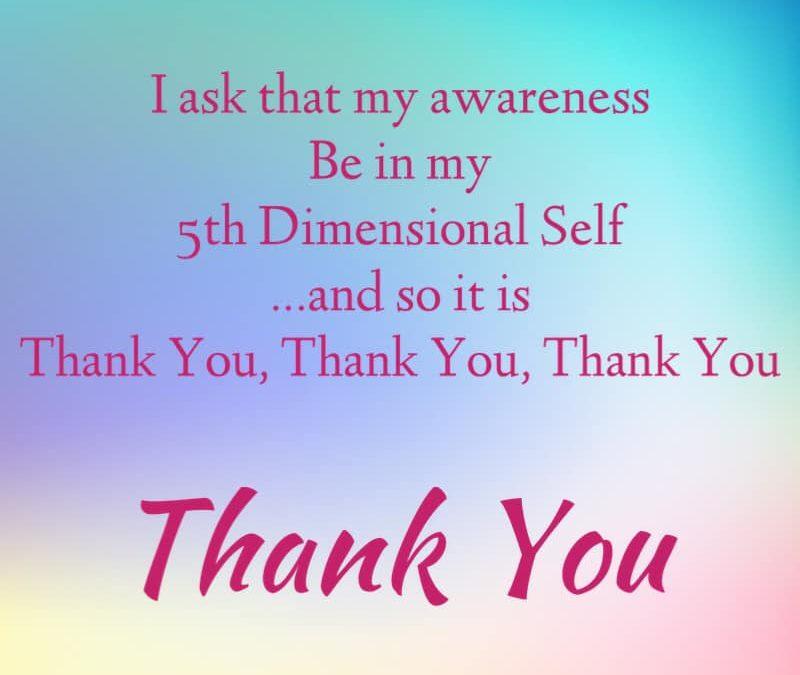 5D Awareness Mantra