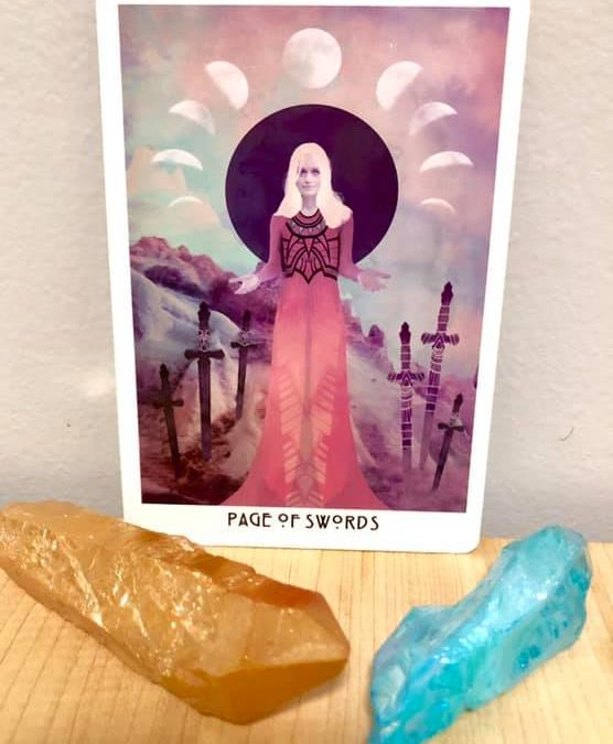 The Page of Swords Tarot Card Meanings