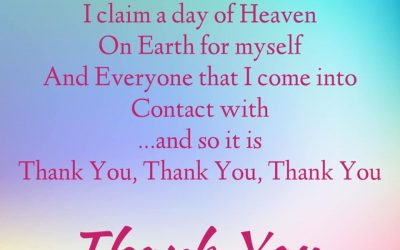 Heaven on Earth Mantra