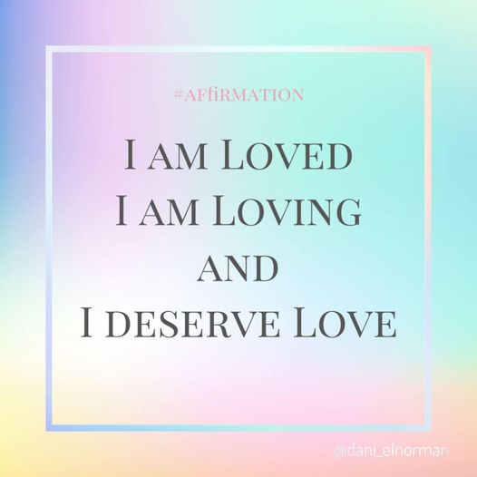 Affirmation for Love