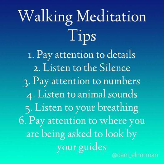 Walking Meditation Tips