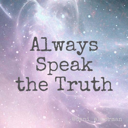 Always Speak the Truth