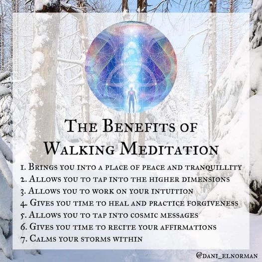 The Benefits of Walking Meditation